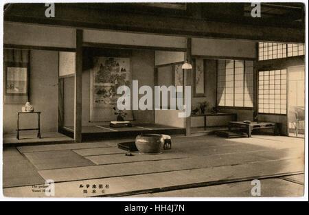 Yumei Hotel, Nagasaki, Japan - traditional Japanese interior - Stock Photo