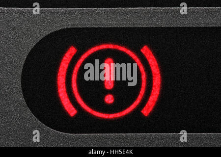 Warning Light Icon In Car Dashboard Power Steering Failure Stock - Car sign on dashboard