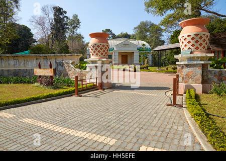 Orchid Garden and Butterfly Museum, National Kandawgyi Botanical Gardens, Pyin U Lwin, Pyin Oo Lwin (Maymyo), Myanmar - Stock Photo