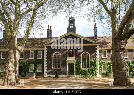 The Geffrye Museum of the Home, Kingsland Road, Shoreditch, London Borough of Hackney, Greater London, England, - Stock Photo