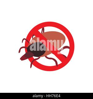 Warning sign with tick icon, isometric 3d style - Stock Photo