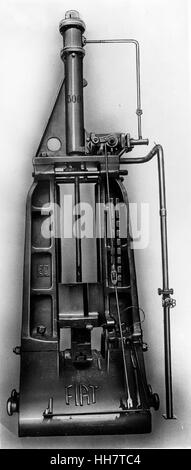 1930 - 40. Fiat - Ansaldo machine. Motors component. - Stock Photo