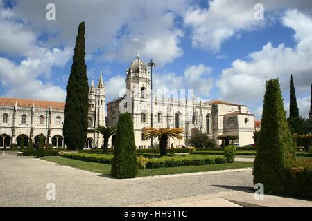 historical, portugal, monastery, world cultural heritage, lisbon, convent, - Stock Photo
