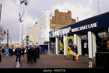 Tottenham hotspur shop southend