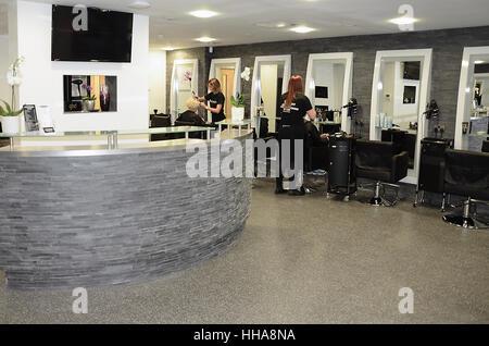 Hair and beauty salon - Stock Photo