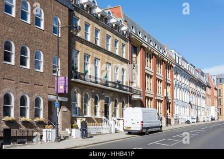 Period buildings, Sheet Street, Windsor, Berkshire, England, United Kingdom - Stock Photo