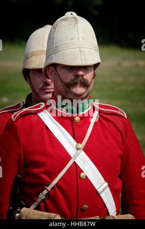 British Boer War Soldier - Stock Photo