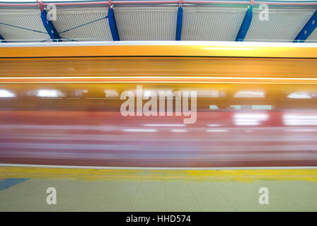 station, railway, locomotive, train, engine, rolling stock, vehicle, means of - Stock Photo