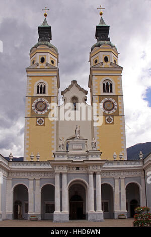 cathedral assumption of mary and st. kassian brixen - Stock Photo