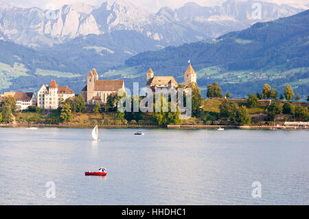 lake to rapperswil - Stock Photo