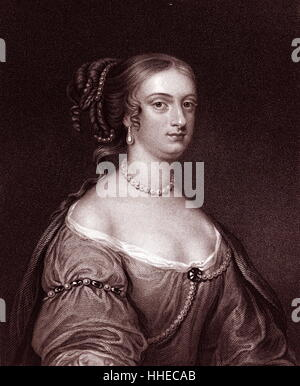 Rachel, Lady Russell (nee Wriothesley 1636-1723) wife of William Russell, Lord Russell - Stock Photo