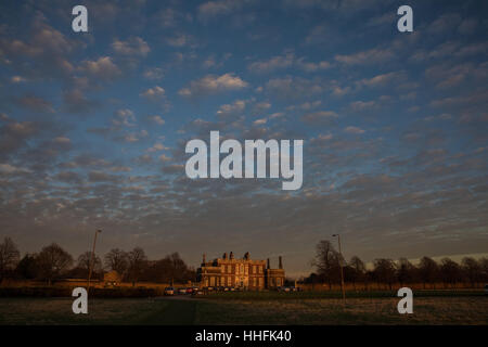 London, UK 18th January, 2017 Beautiful  afternoon  and early evening in Greenwich, London Credit: carol moir/Alamy - Stock Photo