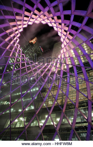 London, UK. 18th January 2017. Ovo - On entering Ovo, visitors are surrounded by light and soundscapes. Credit: - Stock Photo
