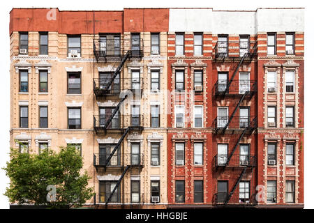 ... New York City Vintage Style Apartment Building In The East Village Of  Manhattan   Stock Photo