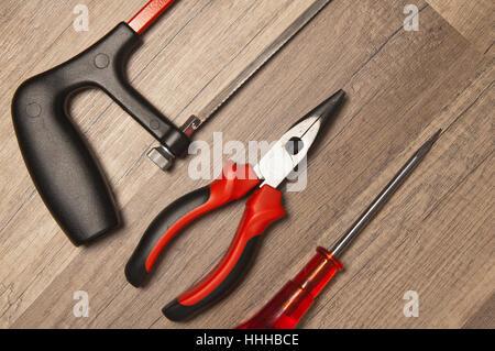 closeup, board, tools, model, design, project, concept, plan, draft, closeup, - Stock Photo