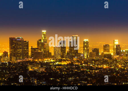 city, town, sunset, usa, california, america, sight, view, outlook, - Stock Photo