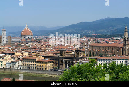 city, town, tuscany, sight, view, outlook, perspective, vista, panorama, - Stock Photo