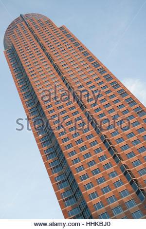 the frankfurt messeturm - Stock Photo