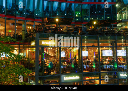berlin restaurant sony center stock photo royalty free image 76587762 alamy. Black Bedroom Furniture Sets. Home Design Ideas