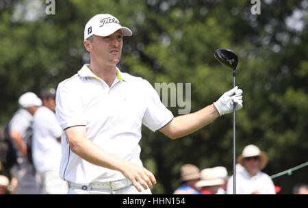 GUYANCOURT, FRANCE, JULY 02, 2015 : Michael Hoey  (ENG) at  the golf French Open  , European Tour, july 02, 2015, - Stock Photo