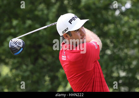 GUYANCOURT, FRANCE, JULY 02, 2015 : Oliver Farr (WAL) at  the golf French Open , European Tour, july 02, 2015, Golf - Stock Photo