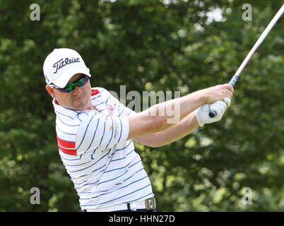 GUYANCOURT, FRANCE, JULY 02, 2015 : Paul Maddy (ENG) at  the golf French Open , European Tour, july 02, 2015, Golf - Stock Photo