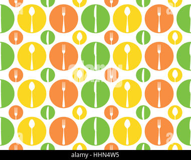 illustration, fork, pattern, seamless, cutlery, backdrop, background, arm, - Stock Photo