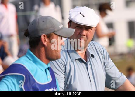 GUYANCOURT, FRANCE, JULY 02, 2015 : Chris Doak (SCO) at  the golf French Open, European Tour, july 02, 2015, Golf - Stock Photo