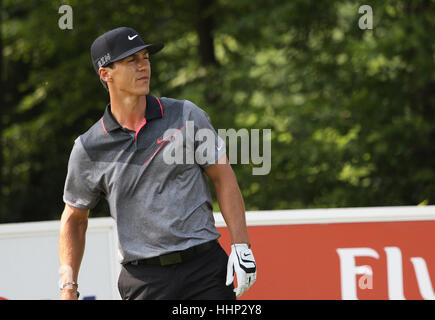 GUYANCOURT, FRANCE, JULY 02, 2015 : Thorbjorn Olesen (DEN) at  the golf French Open , European Tour, july 02, 2015, - Stock Photo