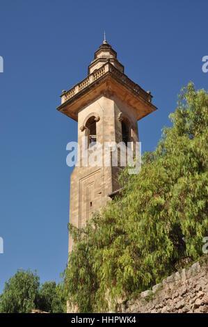 parish church in valldemossa - Stock Photo