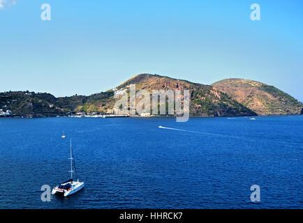 islands, island, sicily, italy, isle, stairs, house, building, salt, church, - Stock Photo