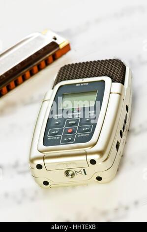 digital recorders - Stock Photo