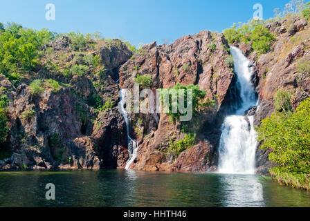 Wangi Falls, Litchfield National Park, Australia - Stock Photo