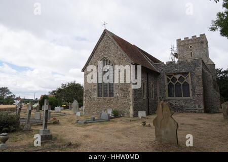 The Graveney Church in the city of Faversham, UK - Stock Photo