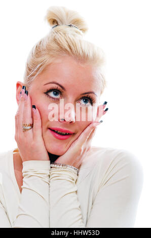 woman, humans, human beings, people, folk, persons, human, human being, laugh, - Stock Photo