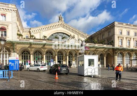 Gare de l'Est, East station, Paris Est, in the  10th arrondissement, Paris, France - Stock Photo