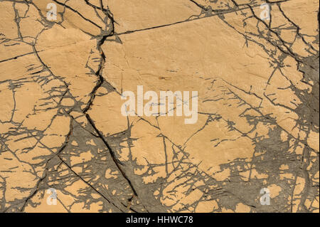 detail, stone, crack, limestone, pattern, fissured, cracked, fissure, backdrop, - Stock Photo