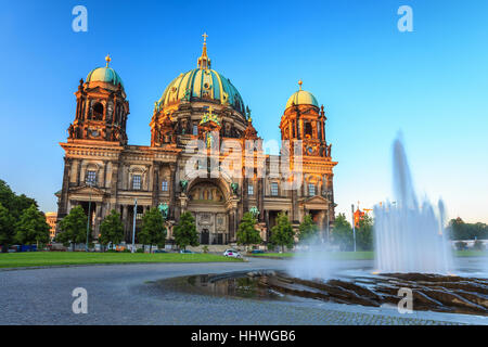 Berlin Cathedral or Berliner Dom, Berlin, Germany - Stock Photo