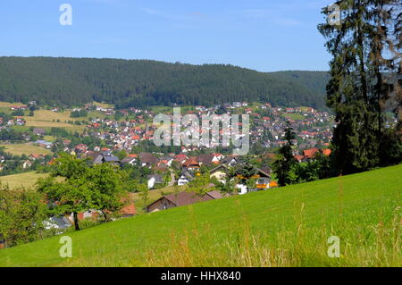 black forest, scenery, countryside, nature, house, building, houses, city, - Stock Photo