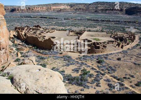 Chaco Canyon, New Mexico - Stock Photo