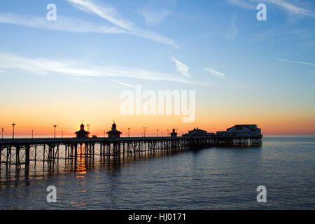 Blackpools North Pier, a Victorian structure and landmark, Lancashire, UK - Stock Photo