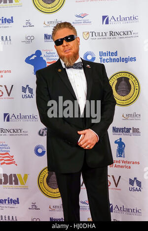 Washington DC, USA. 20th Jan, 2017. Actor Boone Cutler poses for a photo at The Vettys Inaugural Ball at the Hay-Adams Hotel on January 20, 2017 in Washington, DC Credit: The Photo Access/Alamy Live News