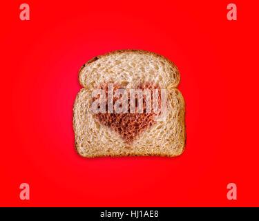 food, aliment, bread, single, vitamins, vitamines, model, design, project, - Stock Photo