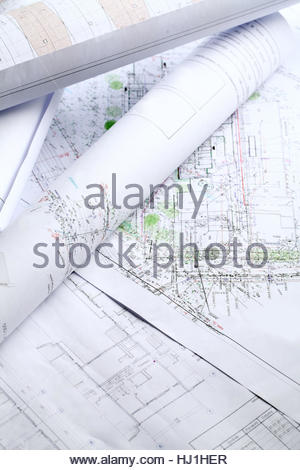 house, building, office, tool, object, job, architectural, detail, model, - Stock Photo