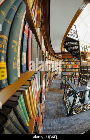 Picton Reading Room, part of Liverpool Central Library. - Stock Photo