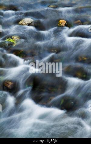 beautiful, beauteously, nice, waterfall, wet, blurred, veil, cascade, river, - Stock Photo