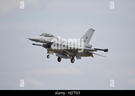 Royal Netherlands Air Force F-16AM Fighting Falcon - Stock Photo