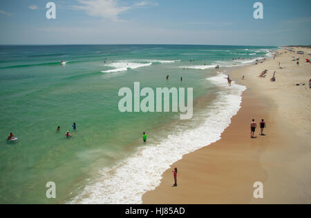 Outer Banks North Carolina Beach - Stock Photo