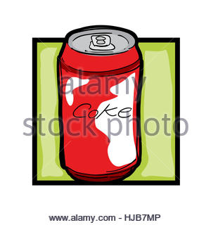 Pop Art Style Photo Of A Can Of Spam Stock Photo, Royalty Free ...