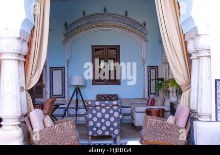Interior In The Indian Style With Furniture, An Interior, Indian, Style, Old